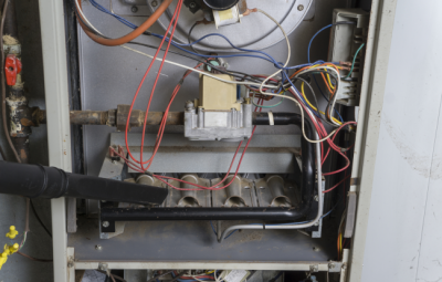 HVAC maintenance is best handled by a professional to clean the inside of your furnace. Contact Scott Miller in Salem, IN today!